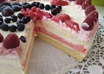 Jemný dort