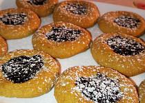 Ricottové koláčky s povidly