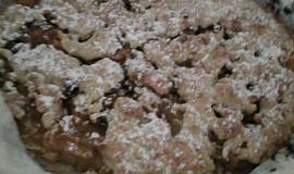 Linecký ořechový koláč s jablky