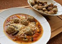Masové knedlíčky do polévek SPLK  (Dělená strava podle LK - Zvířata)