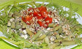Zelené fazolky s lískovými ořechy