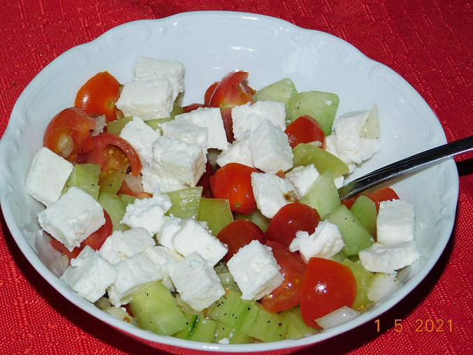 Šopský salát - šopák
