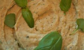 Fazolový hummus s bazalkou  (Dělená strava podle LK - Kytičky)