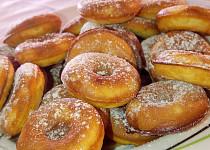 Jednoduché mini donutky