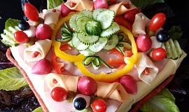 Slaný dort s vajíčkovou pomazánkou