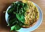 Tato omeleta je udělaná z pikantního hummusu a také super :)