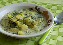 Jednoduchá a poctivá pórková polévka