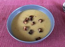 Jednoduchá krémová brokolicová polévka podle Eduarda