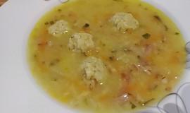 """Sváteční polévka z kachny (""""kaldoun"""") paní hajné ze """"Šlajfu"""""""