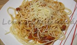 Variace na špagety s Bolognese omáčkou