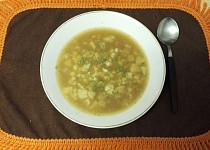 Květáková polévka zapražená