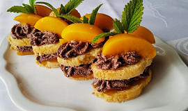 Dortíčky s krémem z koka sušenek