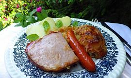 Alsaské zelí s kuřetem