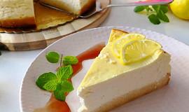 Citronový cheesecake Lowcarb
