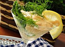 Krevetový koktejl s koprem