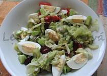 Salát s fazolkami