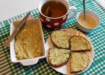 Pomazánka z pesta a tofu  (Dělená strava podle LK - Kytičky)