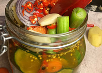 Spicy Sweet Pickles