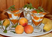 Tvarohové osvěžení s meruňkami