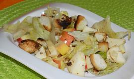 Ledový salát s jablky
