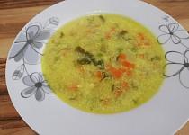 Zeleninová polévka s libečkem