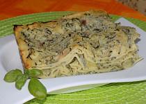 Lasagne s cuketovou omáčkou