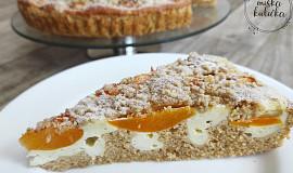 Meruňkový koláč s ovesnou moukou