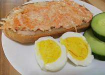 Mrkvová pomazánka s vejcem