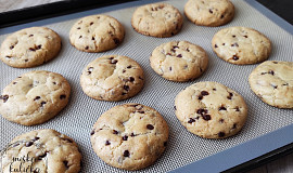 Vegan sušenky s čokoládou