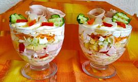 Vrstvený salát do skleniček