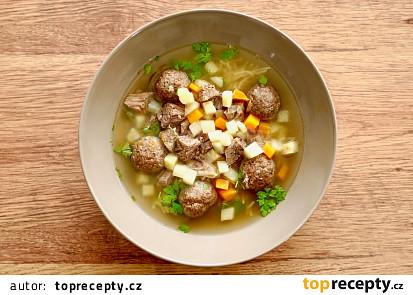Játrové knedlíčky do polévky