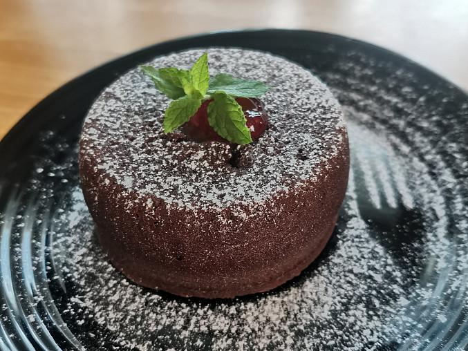 Čokoládový fondant (lávový dortík)