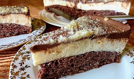 Hrníčkový dort s pudinkovo-tvarohovým krémem