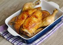 Pečené kuře podle Mišky Kuličky