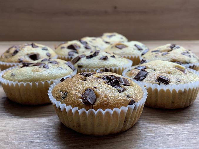 Povedené muffinky