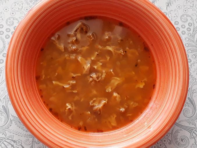 Polévka z kotrče (falešná dršťková), polévka z kotrče