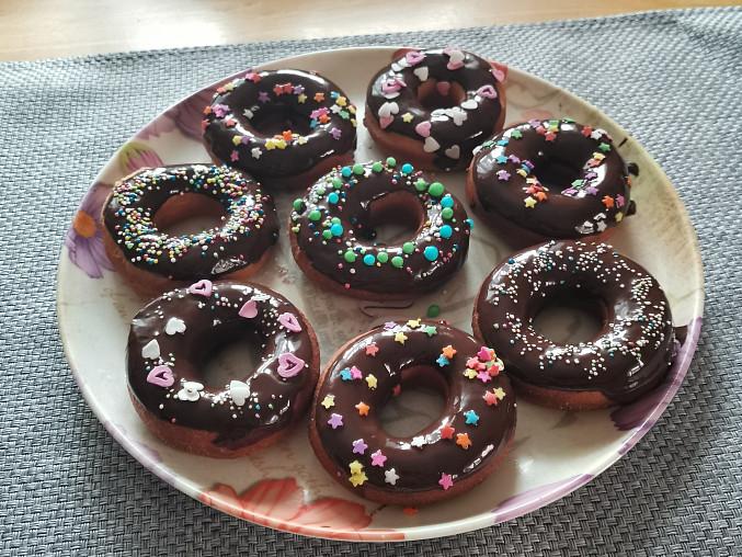 Donuty (americké koblihy)