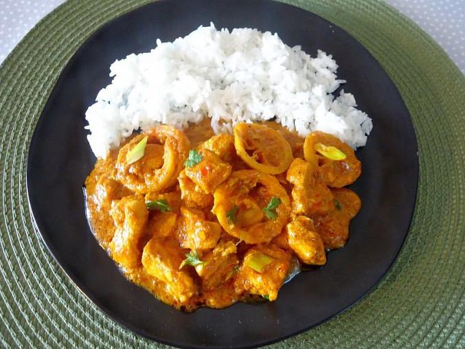 Indické lemon chicken (kuře na citronech)