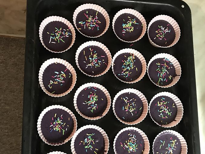 Muffiny, s čím je máte rádi, Ostružinové muffiny