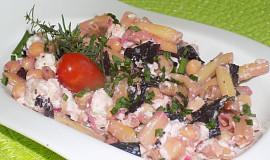 Fazolkový salát s cizrnou