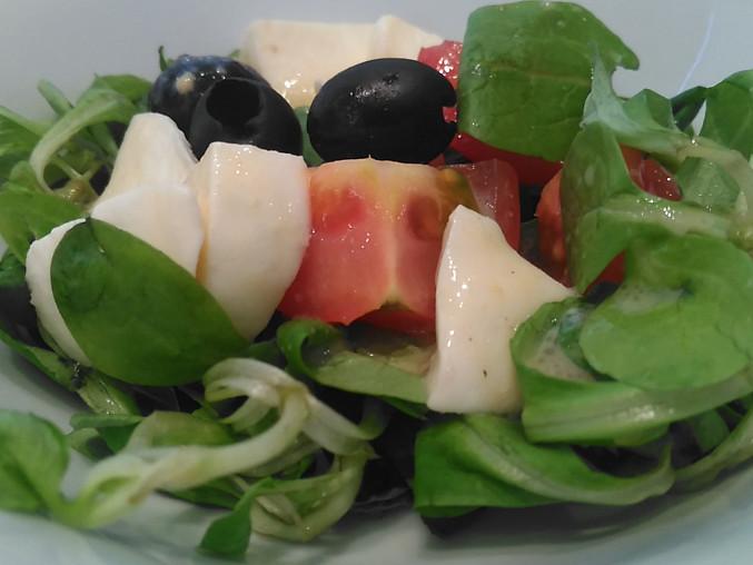 Zeleninový salát z polníčku