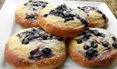 Tvarohové koláčky s borůvkami a dýní