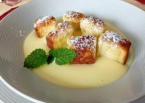 Buchtičky s vanilkovým krémem