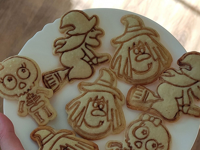 Halloweenské sušenky, Halloweenské sušenky
