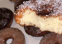 Nadýchané donuty