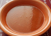 Rajčatová polévka - jednoduše a rychle